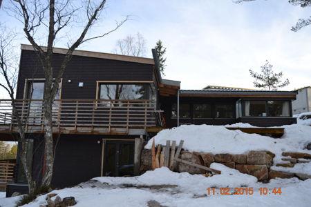 Hus bygget av Søgnen as. bilde