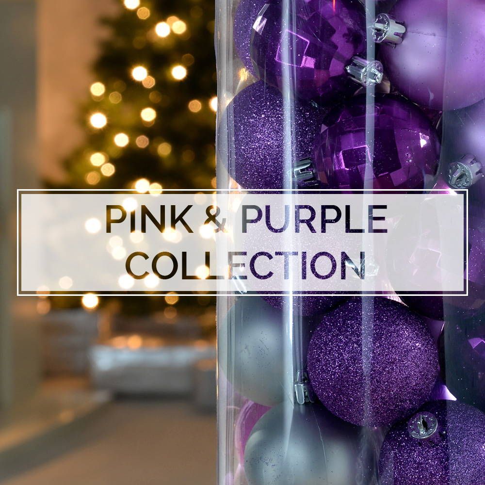Pink and Purple Baubles