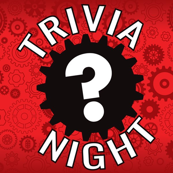 Picture of Three rounds of fun challenging trivia. Ask your host about our $500 tournament prize