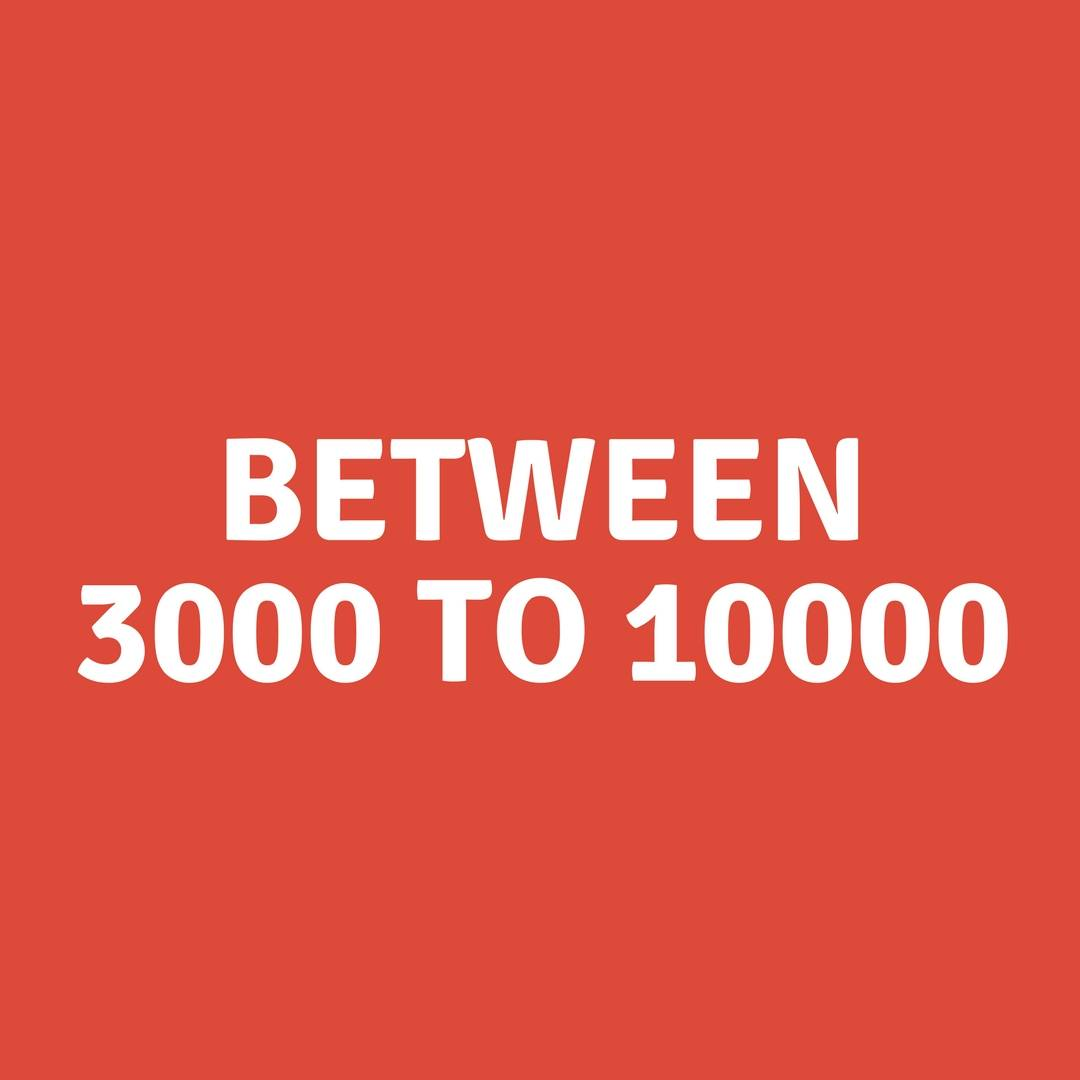 Avenger products between 3000 to 10000
