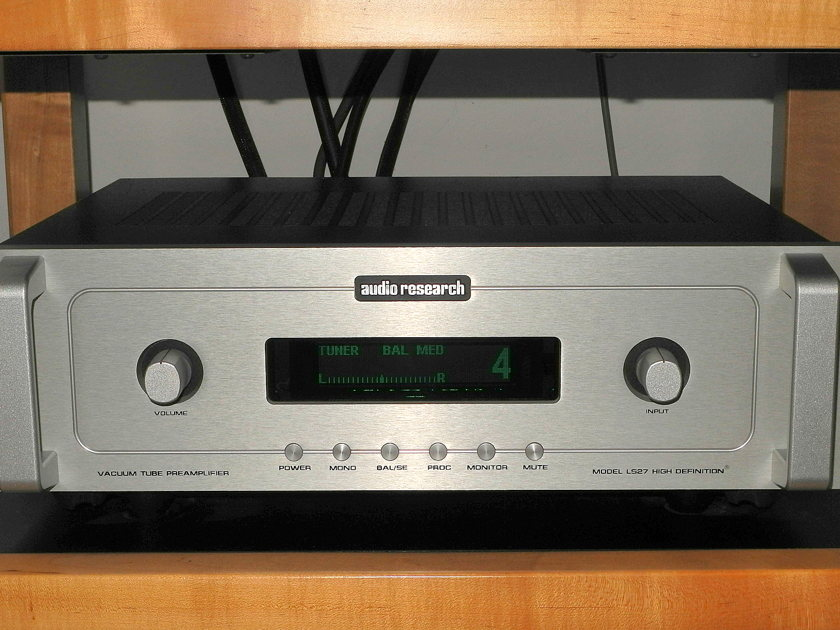 Audio Research LS27 silver line stage  fully balanced preamp