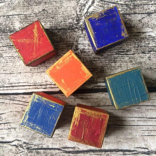 Кубики из сундучка ВИНТАЖ