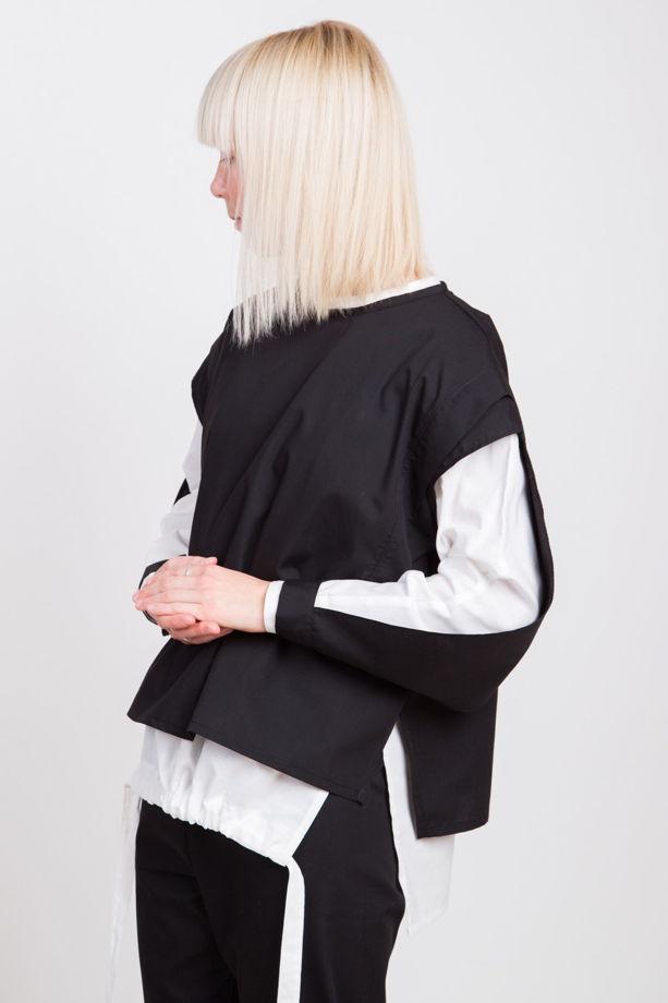 Рубаха с открытым рукавом