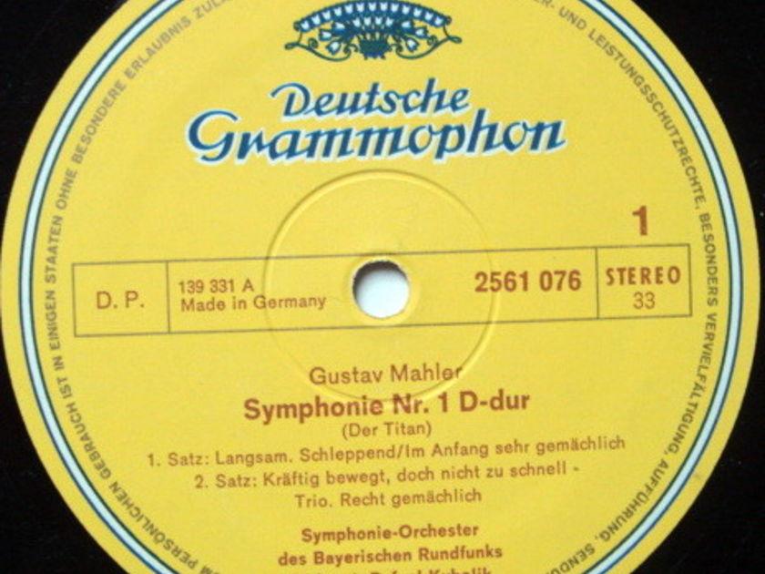 DG / RAFAEL KUBELIK, - Mahler Ten Symphonies, NM, 14LP BOX Set!