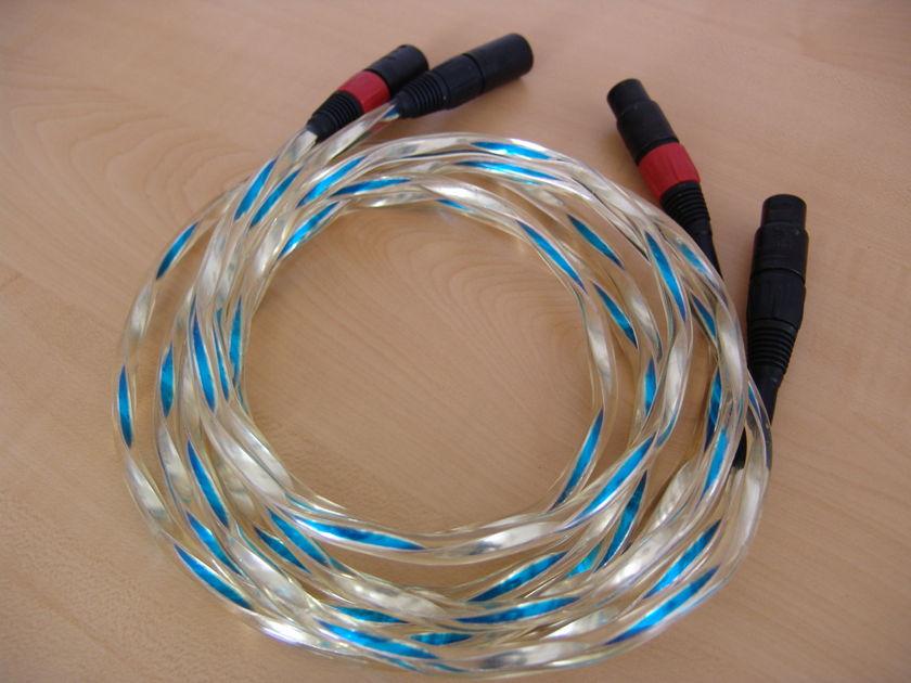 Alpha Core Goertz Triode Quartz (TQ2) Ag Silver XLR 2m pair