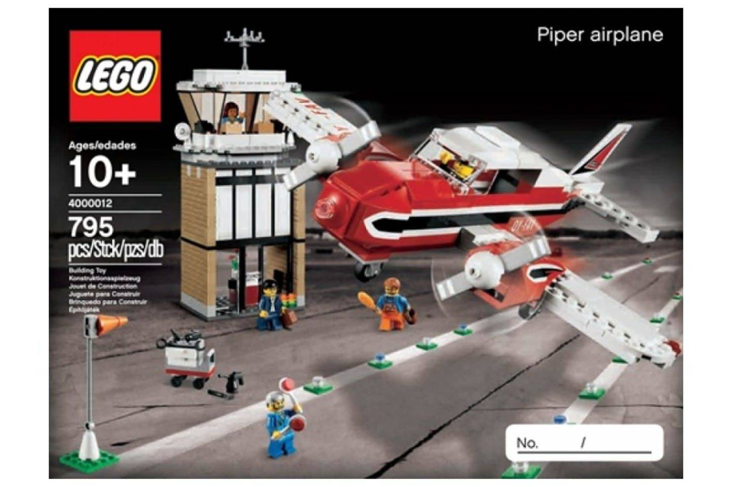 LEGO Piper Airplane