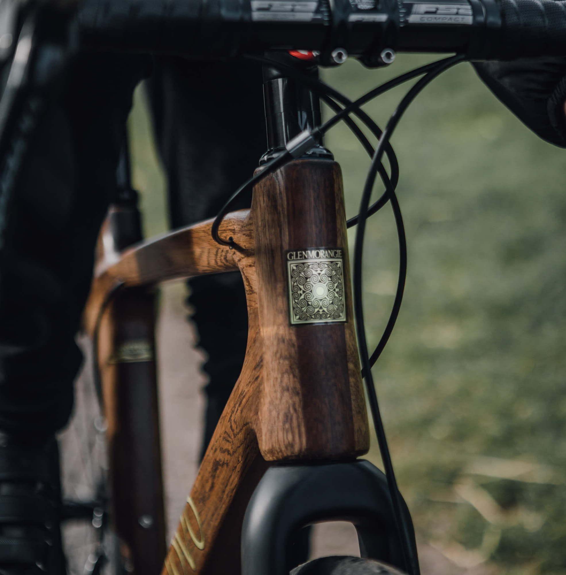 renovo x glenmorangie original bicycle renovo hardwood bicycles