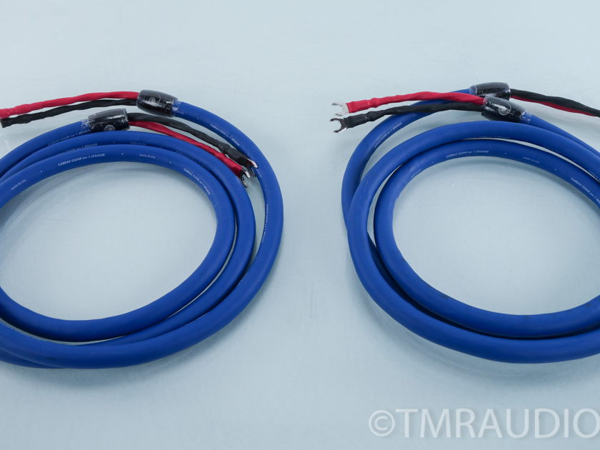 Cardas Clear  Speaker Cables; 3m Pair; Spades (9785)