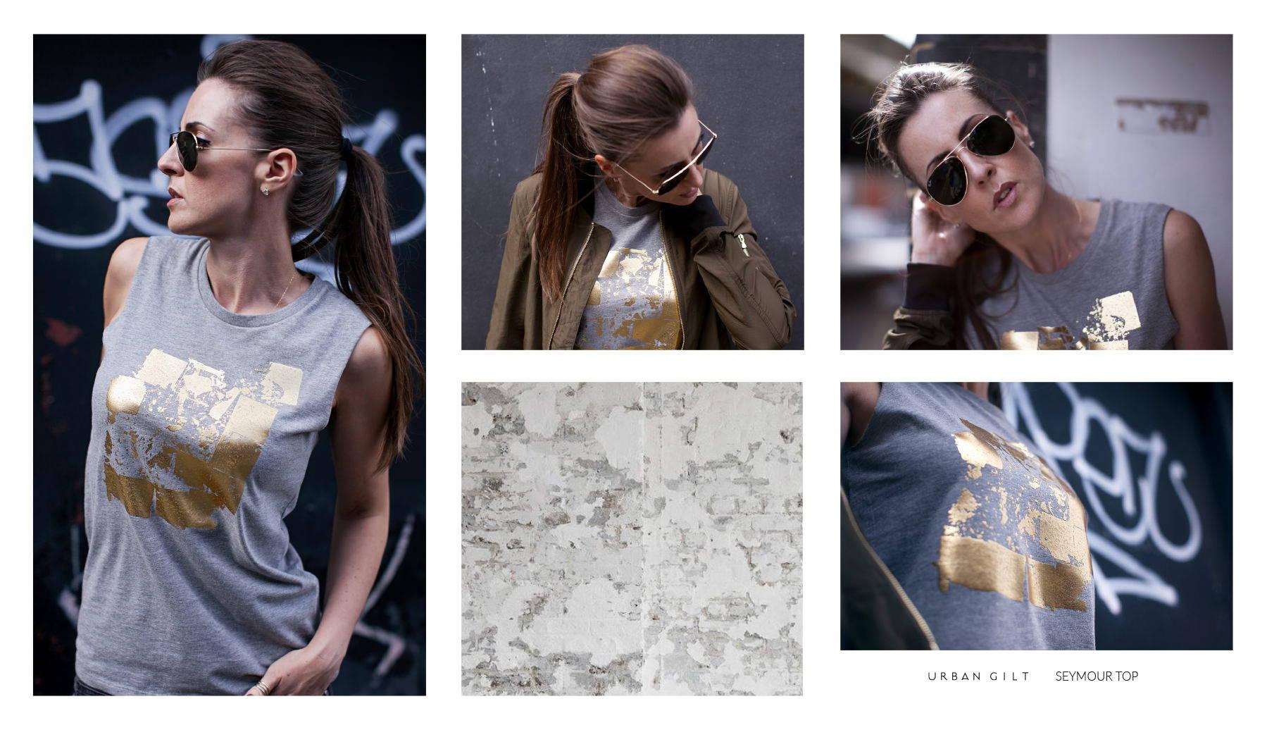 Urban Gilt Lookbook | Urban Textures | Seymour Top