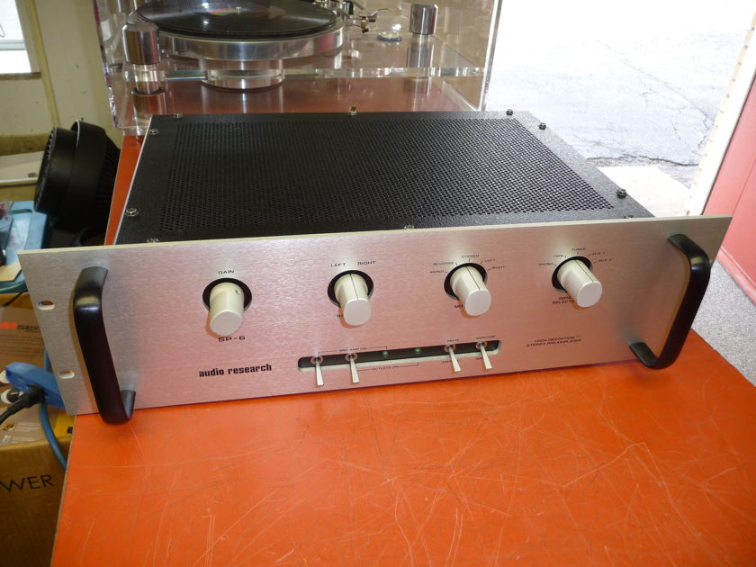 Audio Research SP6B Tube Preamp