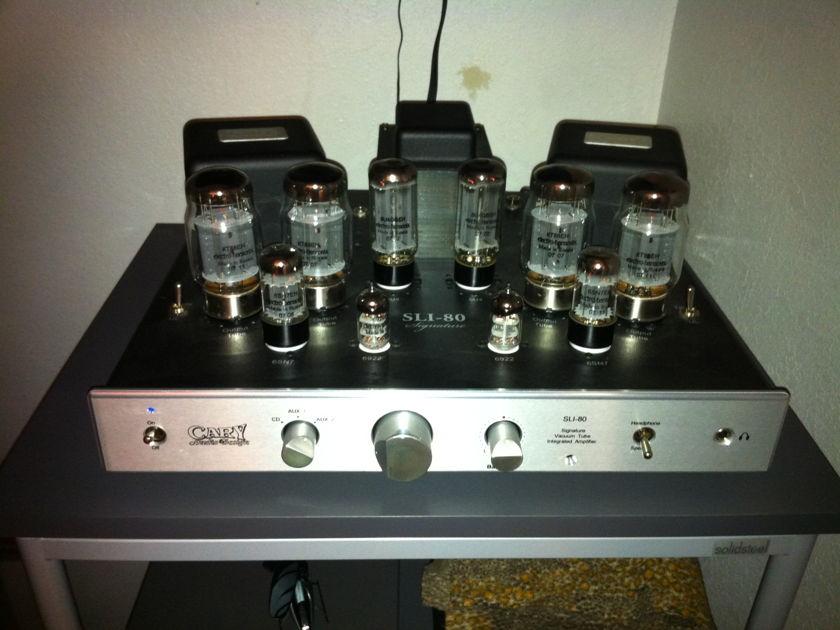 Cary SLI 80 Tube Stereo Integrated amp