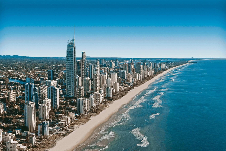 Beautiful photo of Gold Coast Australia