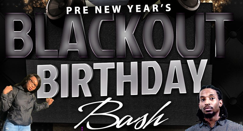 Pre-New Year's Blackout Birthday Bash Teen Party