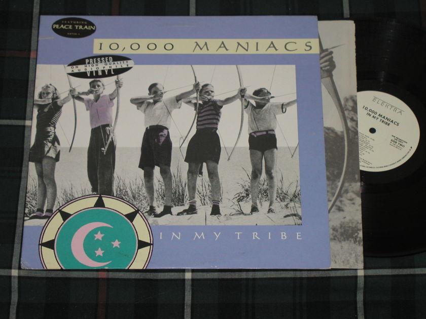 "10,000 Maniacs ""In My Tribe""  - Elektra/Asylum 60738-1 White Label Promo *TAS Super LP*"