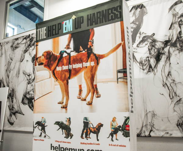 Art & Posters - The Herp'Em Up Harness Trade Show Display