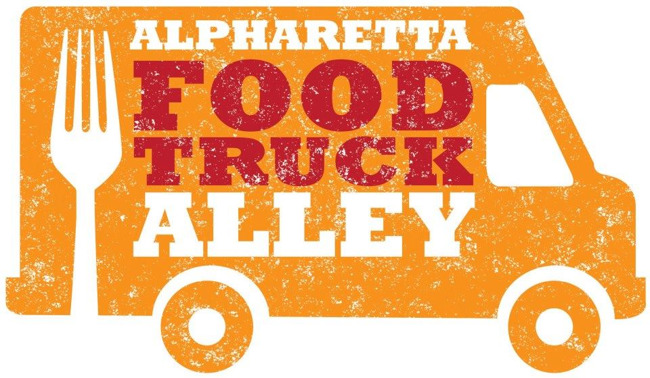 Apharetta food truck alley poster