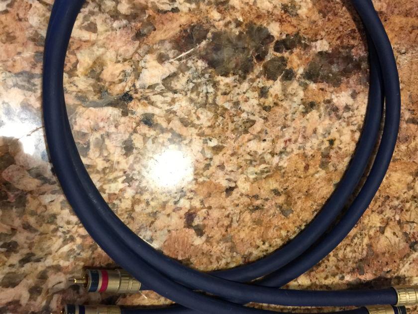 Audioquest Lapis RCA Interconnects - (1) meter pair
