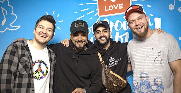 Natan и Гусейн Гасанов побывали в гостях у Красавцев Love Radio - Новости радио OnAir.ru