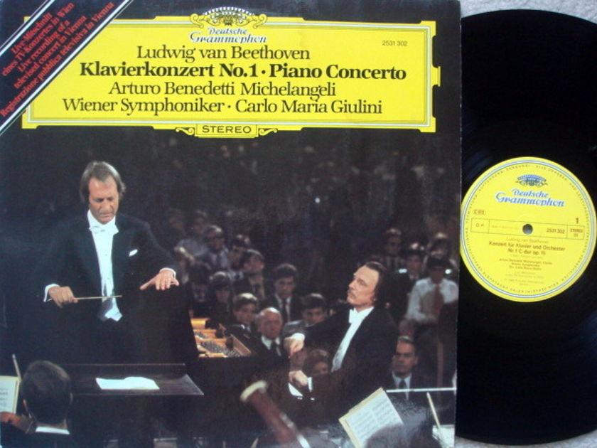DG / MICHELANGELI-GIULINI, - Beethoven Piano Concerto No.1, MINT!