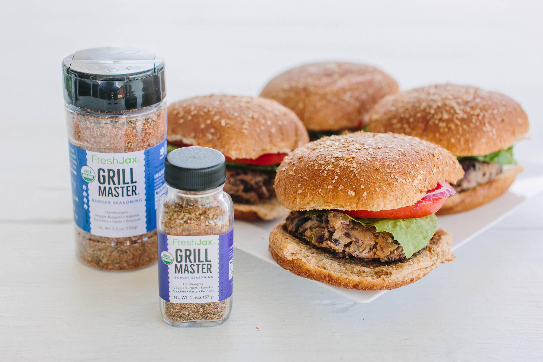 FreshJax Organic Spices Grill Master Burger Seasoning