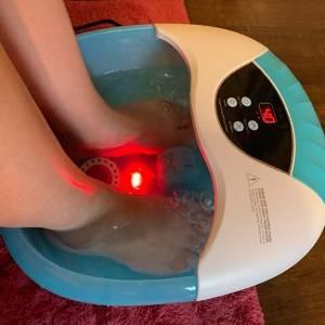Bain de Pieds Maison, Bain Pieds Massant, Massage pieds a Bulles