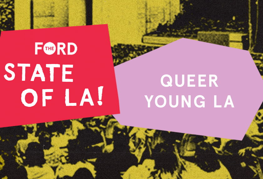 Young Queer L.A. artwork
