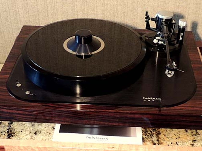 BRINKMANN OASIS  Turntable - Reference Level Resolution and Musicality!