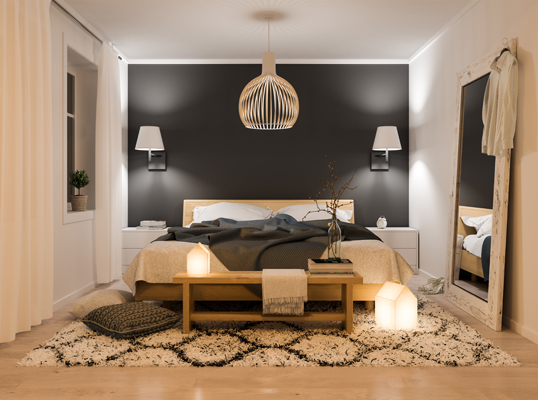 Hamburg - Watch out for these five frequent mistakes when creating a new bedroom design. Here's how to steer clear of them: