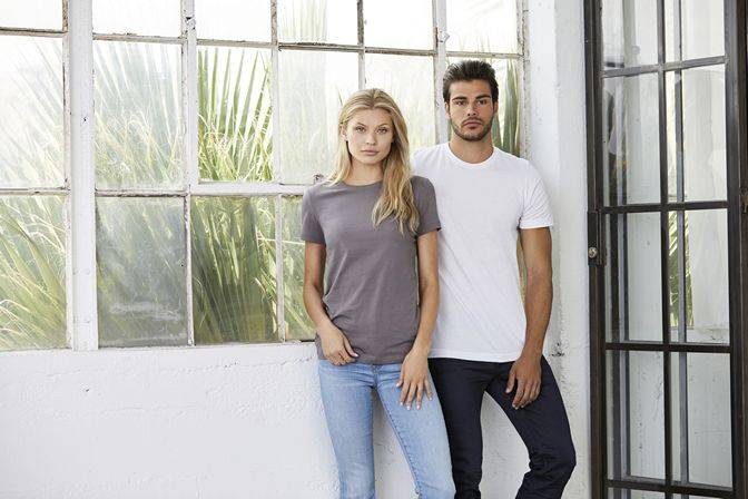 Unisex shirts that look great on him and and