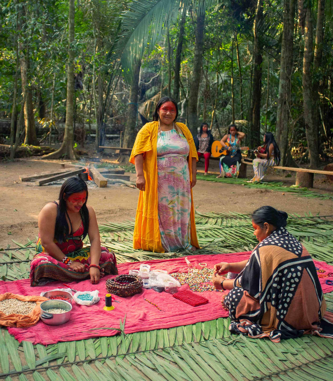 Yawanawá women create our Yawa Bands in Brazil