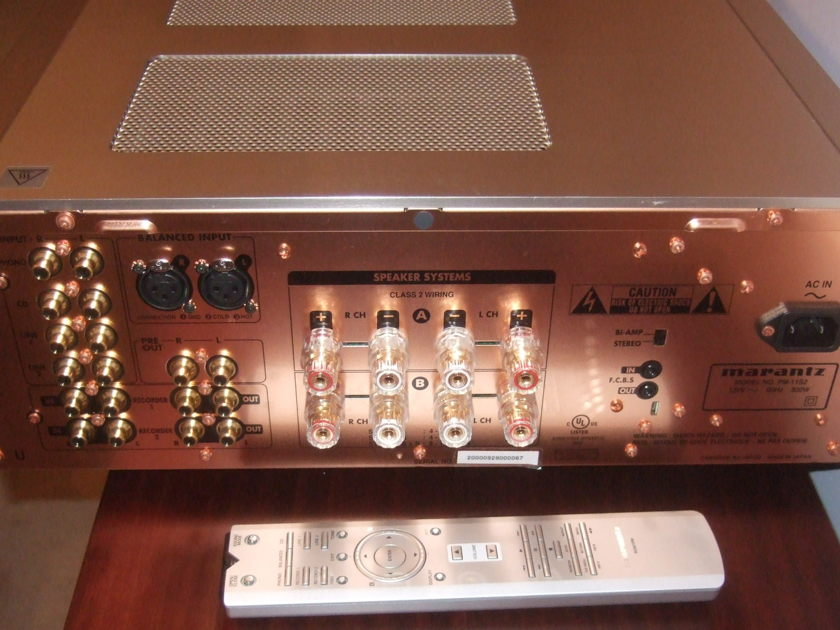Marantz PM-11S2 Integrated Amp Flawless Condition; Luxurious Sound & Build Quality