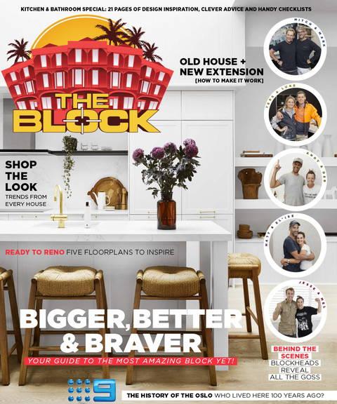 The Block Magazine Cover 2019