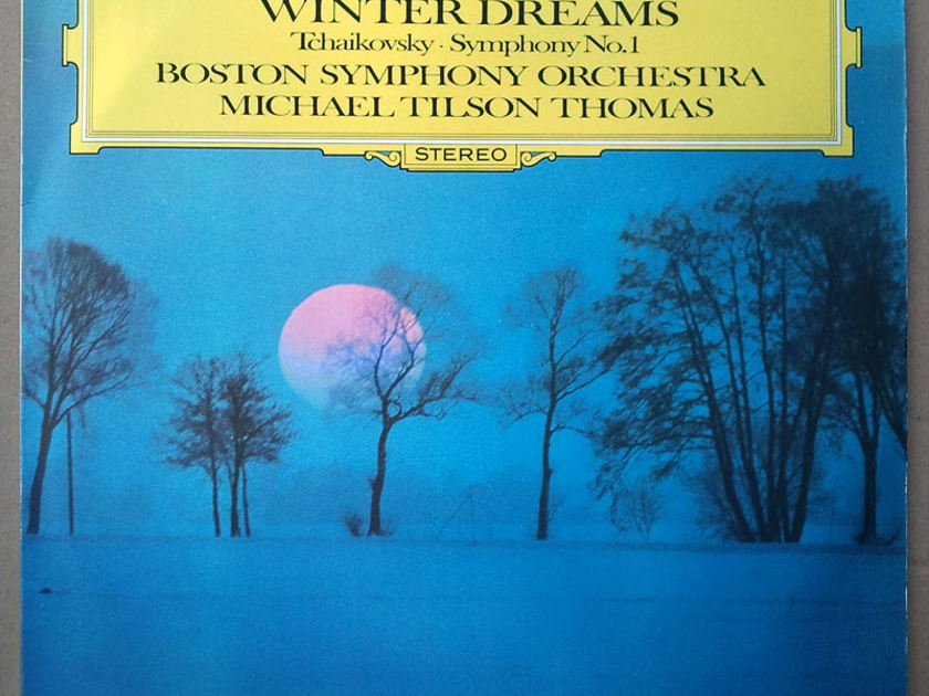 "DG/Tilson Thomas/Tchaikovsky - Symphony No.1 ""Winter Dreams"" / NM"