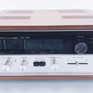 QS-500 4 Channel Integrated Amplifier; QS500 (NOS)