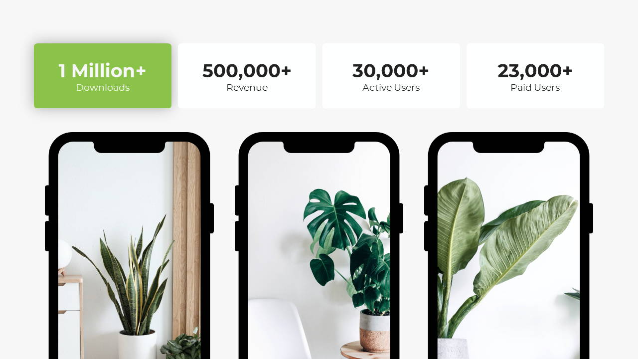 Minimal X Sales Deck Presentation Template Smartphone Features