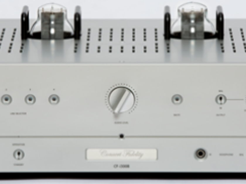 Concert Fidelity  i300b SET 300B Integrated Amplifier - DEMO - Trades accepted