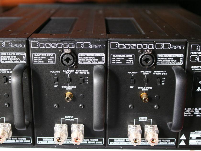 Bryston 6BSST2 Dynamite Power Amplifier!!!