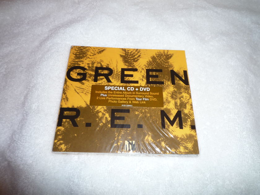 REM DVD-Audio - Green Special edition 5.1 surround & CD