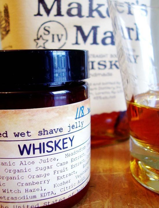 Whisky-wetshave