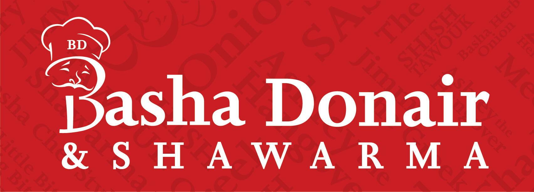 Logo - Basha Donair (75th Street)