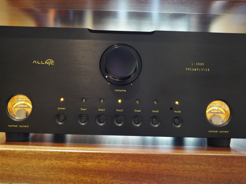 Allnic Audio L-3000 Tube Linestage Preamp (MkII Latest)