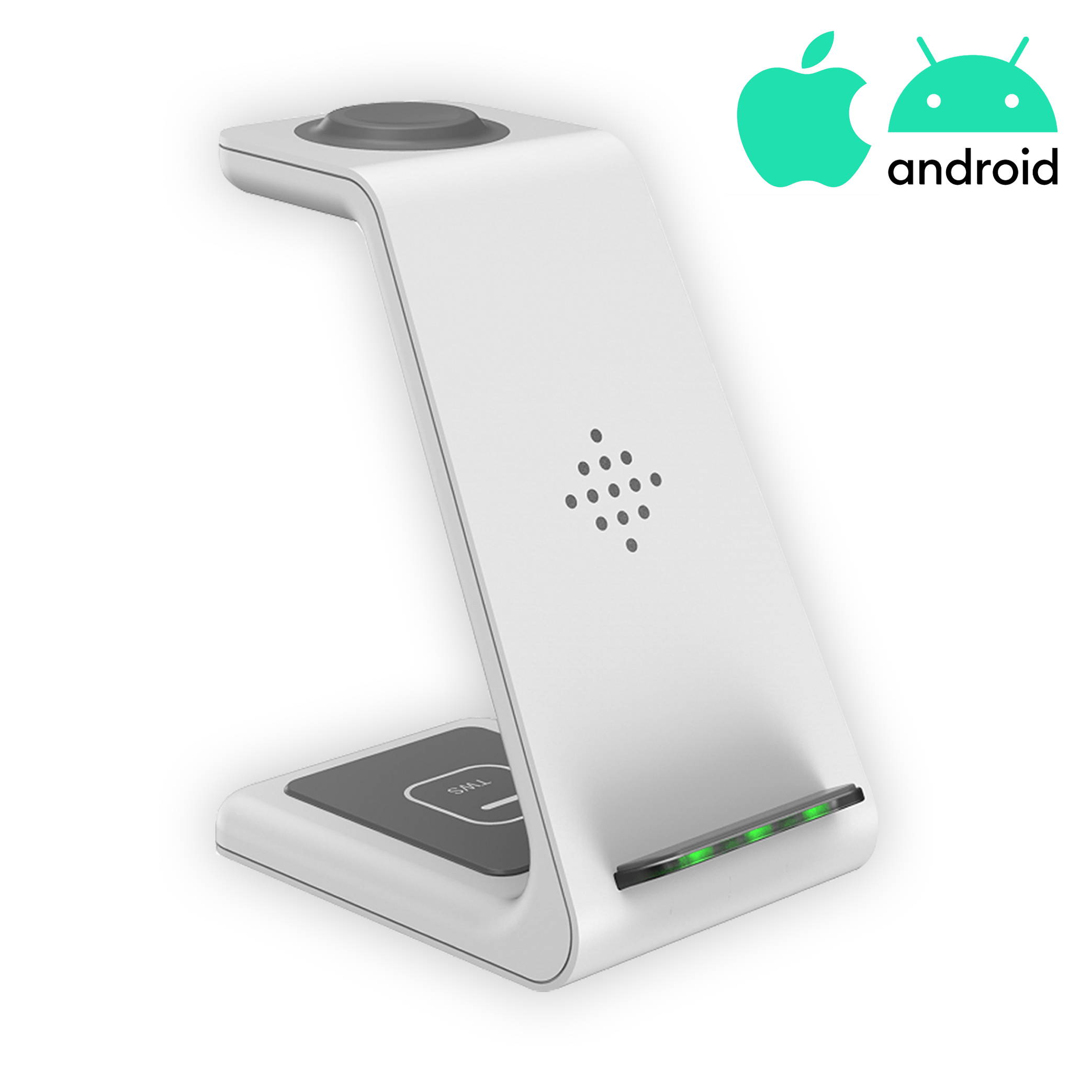 3-in-1 Wireless Charging Dock for Android and Apple