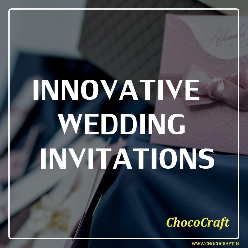 Innovative Wedding Invitations