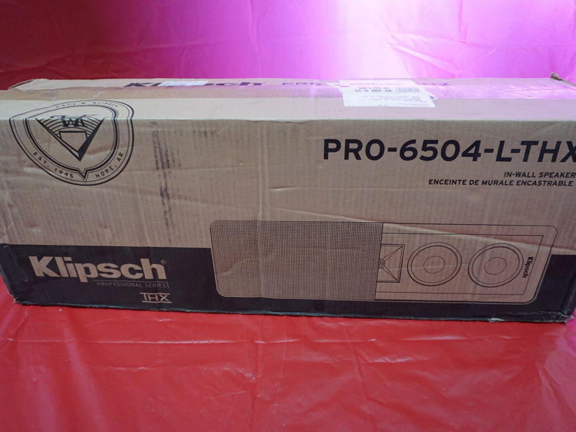 Klipsch PRO-6504-L-THX Single Speaker