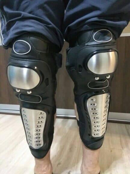 genouillere longue equipement patinette