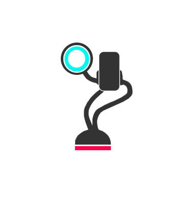 The best phone holder mount and ring led light for the best selfies