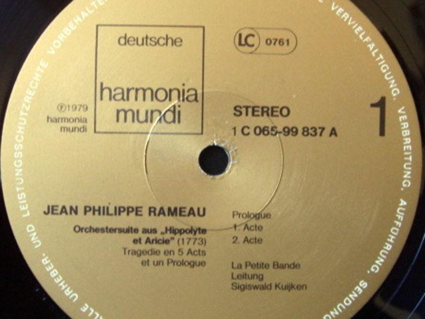 ★Audiophile★ Harmonia Mundi / KUIJKEN, - Rameau Orchestersuite, NM!