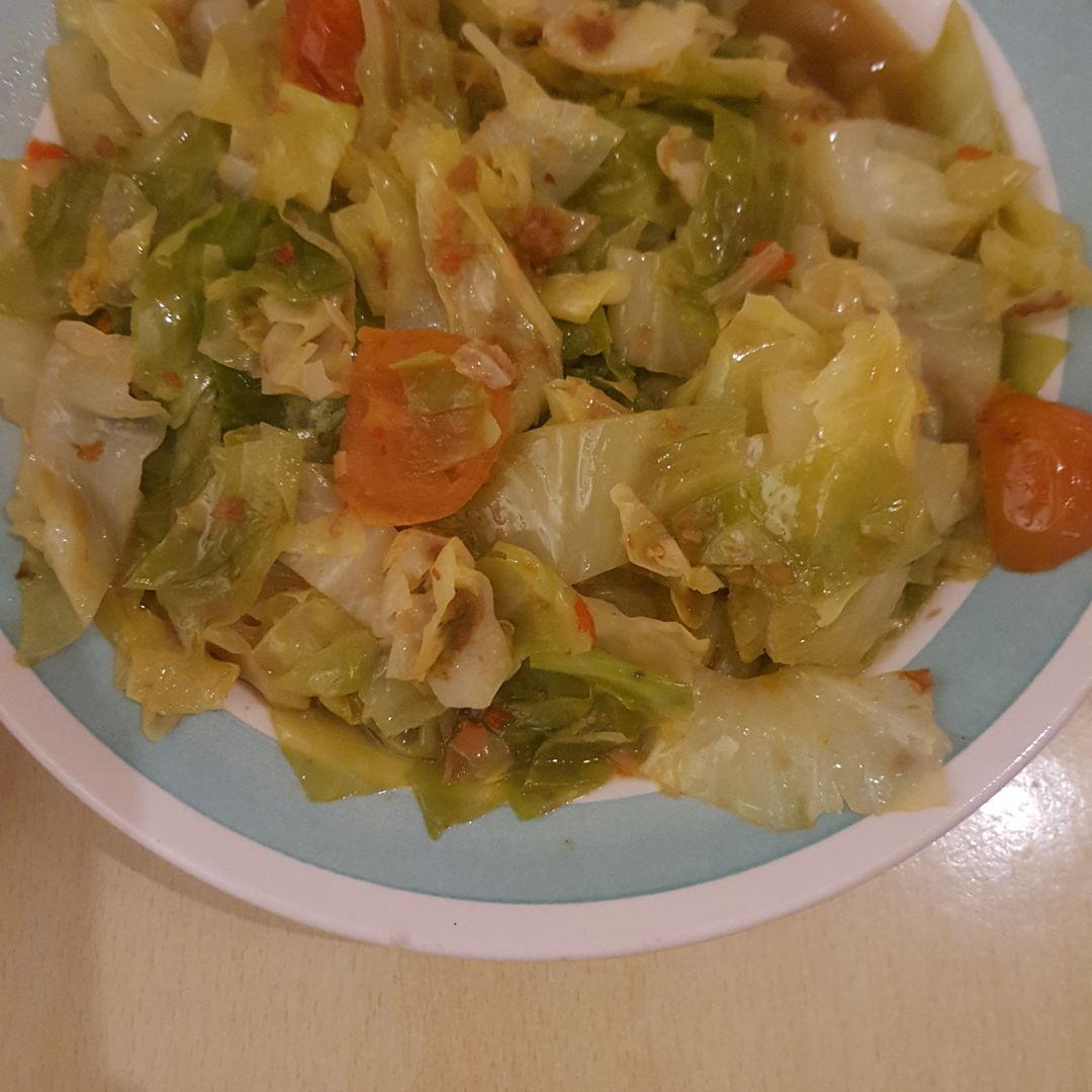 Sambal cabbage