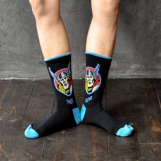 Подарочный набор носков Тор + открытка