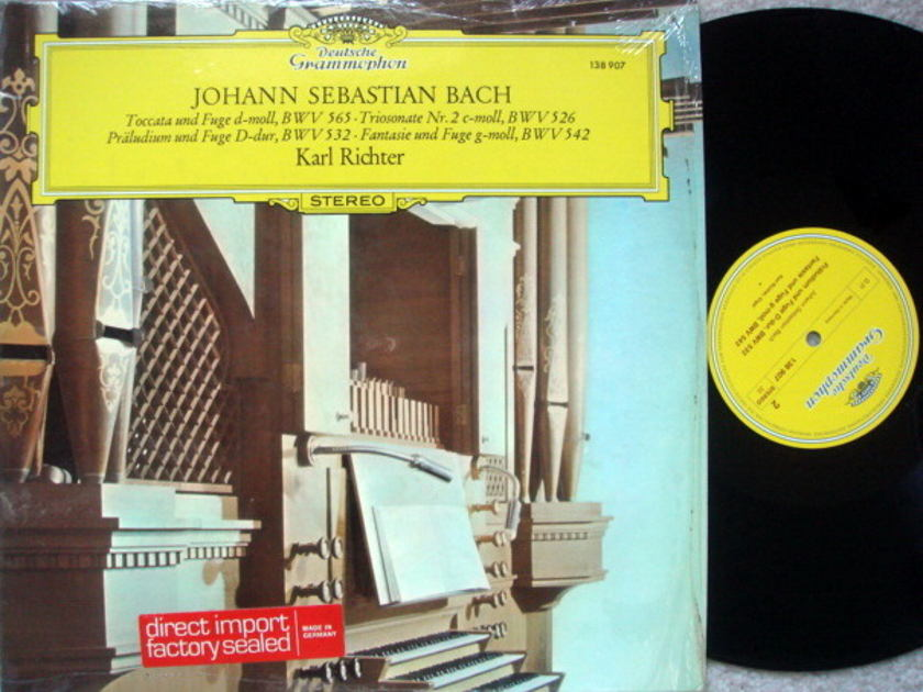 DG / KARL RICHTER, - Bach Toccata and Fugue, NM!